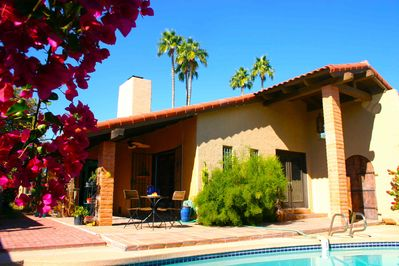 Pool service included for no maintenance rental.