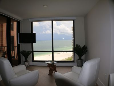 Photo for AVAILABLE 2020 SEASON!  NEWLY RENOVATED. Beachfront Unit Marco Island 3 Bedrooms