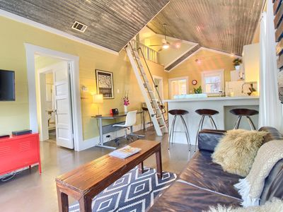 Photo for ★ Walk to it All ★ Private Bungalow ★ Yard ★ Ultra fast Wi-Fi ★ Covered Parking