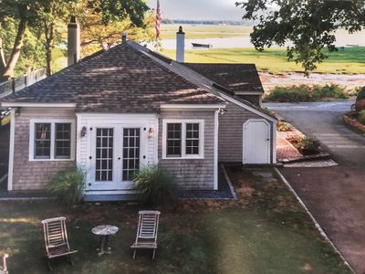 Photo for Cozy Waterfront Cottage tucked in Back River in Duxbury