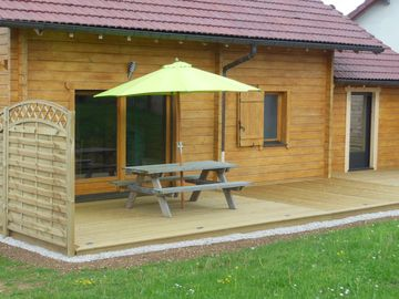 Renting a furnished accommodation chalet in Natural Park Haut Jura