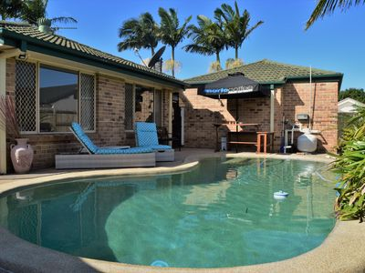 Photo for Spacious Pet Friendly Home with Private Pool 5mins from Mooloolaba Beach