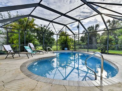 Photo for Port Charlotte House w/ Screened-in Lanai & Pool!