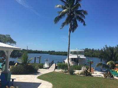 Photo for Gorgeous Waterview with Dock in Upscale Beach-Style Home
