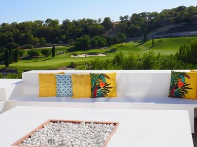 "Photo for Front line golf ""nothing like it"" Stunning views from every aspect. Luxury villa"