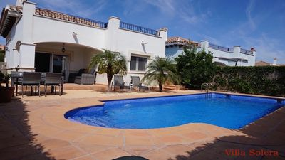 Photo for Stunning modern 2 bedroom villa with private pool, AC & WiFi