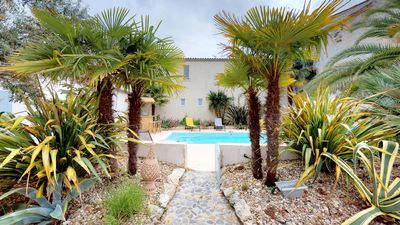 Photo for Beautiful house with swimming pool in the heart of Château d'Oléron