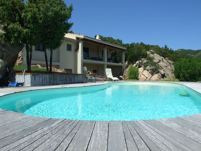Photo for Wonderful private villa with A/C, private pool, TV, washing machine and parking
