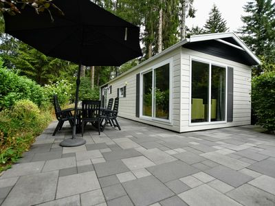 Photo for Luxury chalet on holiday park in the middle of the Achterhoek nature