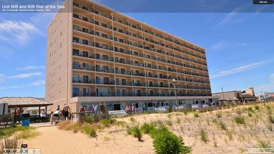 Photo for Oceanfront Condo - Perfect Getaway with unblocked Oceanfront & boardwalk view