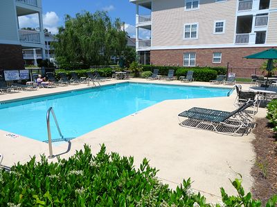 Overlooks Golf Course In Barefoot Resort! First Floor 2BR Newly Remodeled!