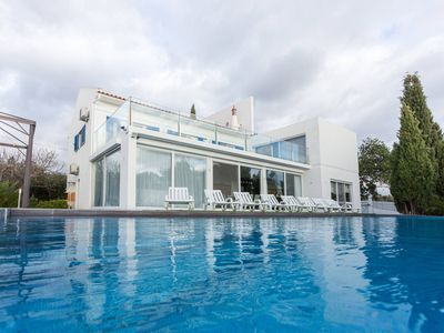 Photo for Modern Villa with huge pool,built in rural touristic place surrounded with lakes