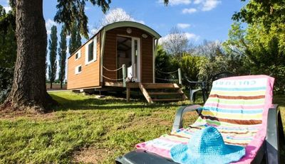 Photo for Camping de la Liez ***** - Trailer 17m² 1 bedroom