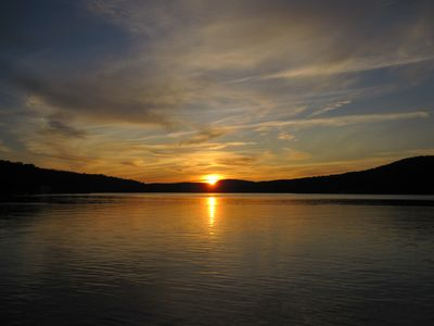 Photo for Enjoy Stunning Adirondack Sunsets From Our Large Lakefront House