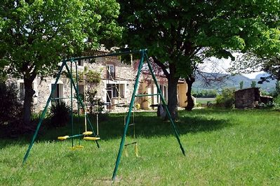 Large children's play area