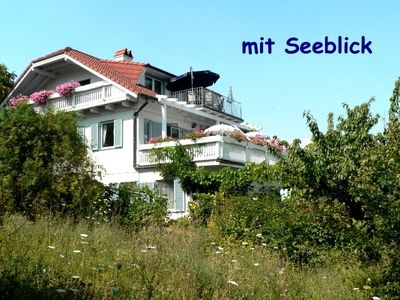 Photo for Apartment with beautiful lake view and private terrace, in a southern region