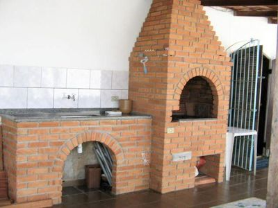 Photo for 4 bedroom house with soccer field, barbecue and pool - 1 suite