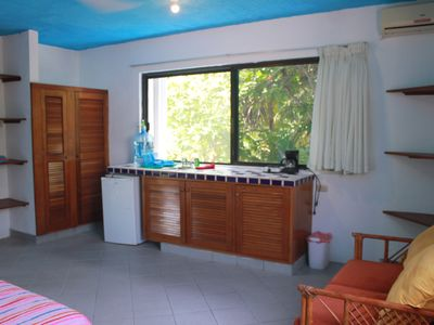 Photo for Studio Apartment w/ Kitchennete across the street from the beach