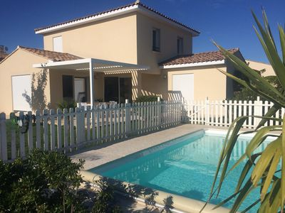 Photo for PROMO !! Contemporary villa with pool between Camargue and Alpilles