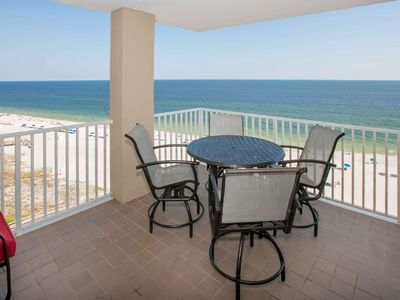 Photo for Newly updated Gulf-front on 10th floor | In/Outdoor pools, Hot tub, Fitness, BBQ | Free Activities