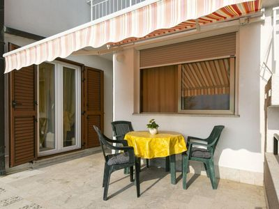 Photo for One bedroom apartment with terrace and sea view Rabac (Labin)