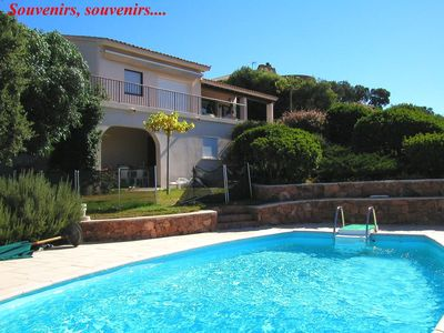 Photo for Villa Pinarello Bay - Pool - Sea View - Free Wifi