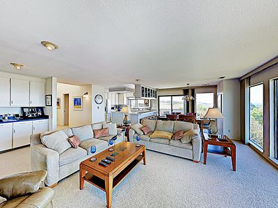 Photo for New Listing! Modern Ocean-View Dream w/ Chef's Kitchen - Walk to the Beach!