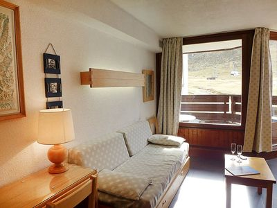 Photo for Apartment 754 m from the center of Tignes with Internet, Lift, Balcony (111921)