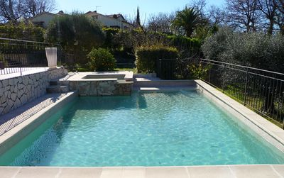 Photo for Beautiful contemporary villa in La Gaude quiet, 15 minutes from beaches