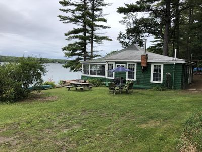 Photo for Cozy Waterfront Victorian Cottage (pet friendly)