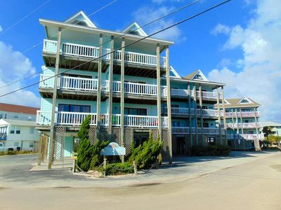 Photo for Beautiful 2 bedroom condo just steps away from Carolina Beach Pier - ISLAND NORTH UNIT C-14