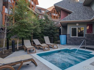 Photo for Mountain Retreat | Loft Condo + Shared Outdoor Hot Tub + Heated Pool