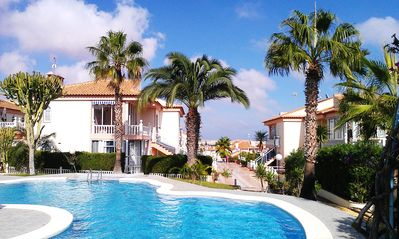 Photo for High quality apartment with great views over town, salt lakes & sea WIFI Ap. B