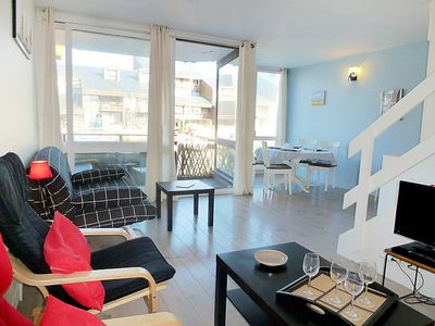 Photo for Apartment Les Marinas in Deauville-Trouville - 4 persons, 1 bedrooms