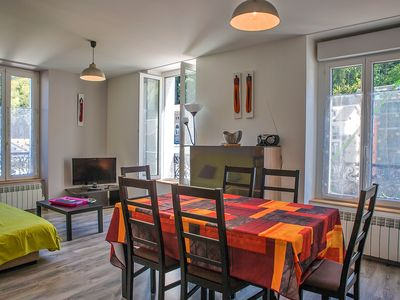 Photo for center town, bright and comfortable appt 3 * 4 pers, cure, rando, skis