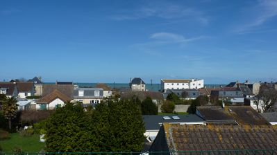 Photo for Apartment with roof terrace beautiful sea view, D-Day beach