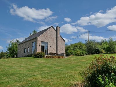 Photo for New bungalow in Moressée (Heure) with magnificent panoramic view