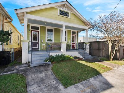 Photo for NEW LISTING! Upscale duplex only steps away from Magazine Street, kitchen, WiFi!