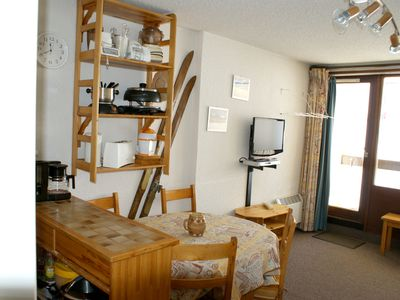 Photo for Homerez last minute deal - Studio - 400 m from the slopes