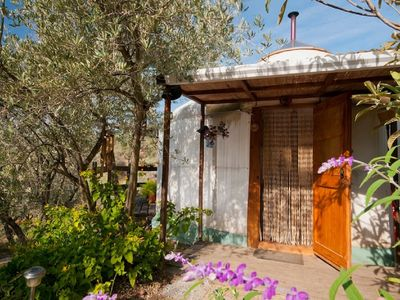 Photo for Enchanting YURT in Alpujarras with spectacular views