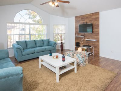 Photo for Cozy Condo - Minutes to Restaurants & Disney -The Villas At Somerset - Free Wifi - Communal Pool