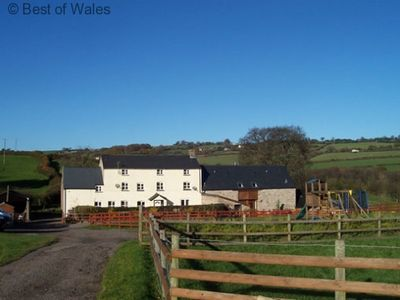 Photo for Maes y Felin -  farm stay cottage for 5 with hot tub
