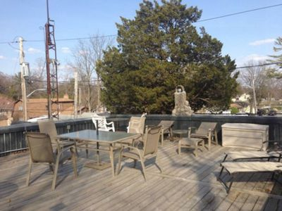 Photo for Rooftop Patio, Minutes to the Beach