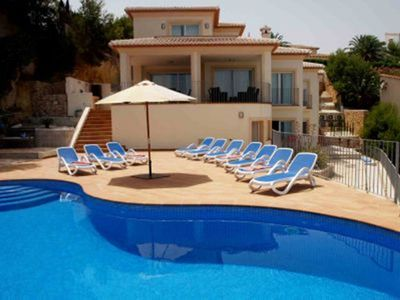 Photo for Stunning 5 Bed  Javea Villa +  Pool + A/C + WiFi + Sky TV - Just discounted!!