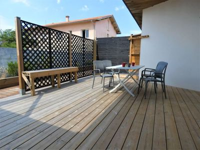 Photo for Mimizan-Plage Holiday Home, Sleeps 4 with Air Con and Free WiFi