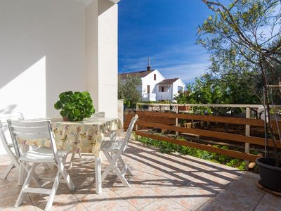 Photo for One bedroom apartment with terrace Krk