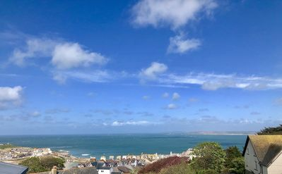 Photo for Fantastic Panoramic Sea Views Of St Ives, 3 Bedroom 2 Bathroom Apartment