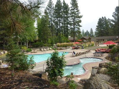 Photo for Seventh Mountain Resort - peaceful, gorgeous views, full facility access - pools, gym, tennis.