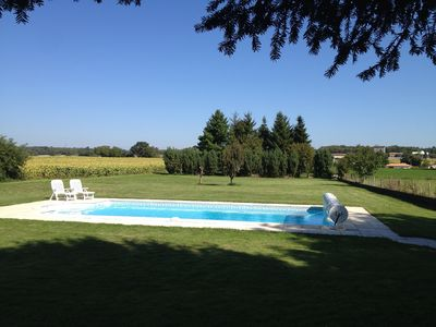 Photo for Charentaise Stone House With Private Own Use Swimming Pool and Grounds.