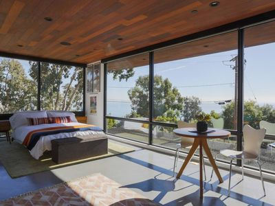 Photo for Malibu Mid-Century Modern Studio with Ocean Views